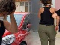 Vücuduna uyuşturucuyu sarıp getiren kadın yakalandı