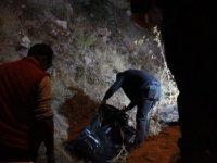 Kayseri'de tartıştığı kişiyi öldürdü üzerini taşla örttü