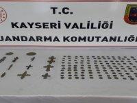 Kayseri'de tarihi eser operasyonu 5 kişi gözaltına alındı
