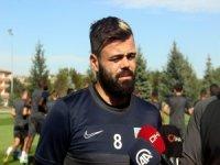 """Kayserispor'un Kaptanı Acar: """"Sezon daha yeni başladı"""""""
