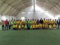 ASKF Başkan Adayı Mutlu Önal'dan Kocasinan Şimşek futbol okuluna ziyaret