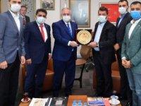 Kayserispor Yönetiminden Başkan Nursaçan'a Ziyaret