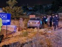 Kocasinan'da film gibi kovalamaca kaçan araç kaza yaptı