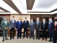Kayseri OSB yönetiminden Çopuroğlu'na hayırlı olsun ziyareti