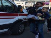 Bekir Yıldız Bulvarı'nda iki araç çarpıştı 6 yaralı