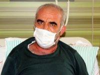 Korona virüs hastası Doyasıya nefes alamıyorum