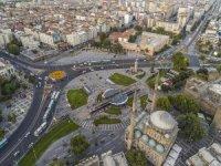 Corona virüs nedeniyle Kayseri'de caddeler boş kaldı