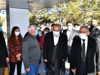 Büyükkılıç Pınarbaşı ve Sarız'da yatırımları yerinde inceledi
