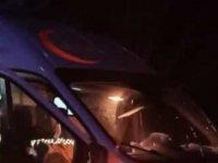Sarız'da Hasta nakleden ambulans kaza yaptı: 3 yaralı