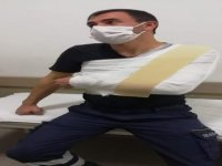 Argıncık'ta 3 maganda ambulans şoförünü döverek hastanelik etti