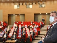 Palancıoğlu meclis üyelerine 2020 yılı yatırım ve hizmetlerini anlattı