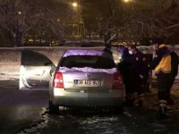 Esentepe'de baltalar konuştu 20 yaşındaki genç yaralandı