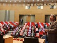 Palancıoğlu, MHP Melikgazi İlçe yönetimine sunum yaptı