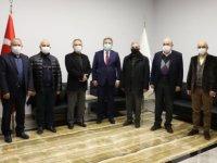 Başkan Palancıoğlu serbest bölgeden 5 kıtaya ihracat yapıyoruz