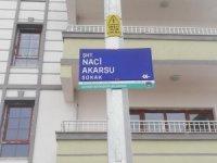 Tomarzalı Şehit Polis Naci Akarsu'nun adı sokağa verildi