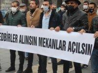 Kayseri'de esnaf kan ağlıyor
