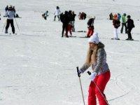 Bodrum'dan Erciyes'e kayak yapmak için geldik