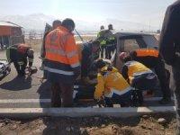 Develi-Yahyalı yolunda kaza 3 kişi yaralandı