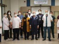 Kayseri Şehir Hastanesi'nde ilik nakli ameliyatı başarı ile gerçekleştirildi