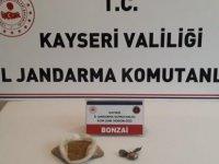 Yahyalı Jandarma'dan bonzai operasyonu: 2 gözaltı