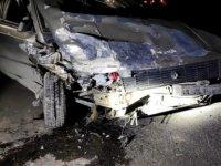 Soysallı yolunda feci kaza: 1'i ağır 3 yaralı
