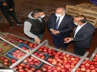 """Öztürk; """"Yahyalı'da elma üreticilerinin sorunlarını siyasilerimize taşıyacağız"""""""