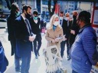 Deva Partisi Kayseri İl Başkanlığı sahalarda vatandaşı dinledi