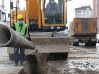 KASKİ'den İncesu'ya 6 bin 303 metrelik altyapı yatırımı