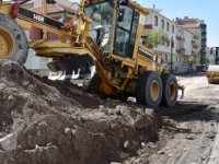 Kocasinan Belediyesi 15 noktada asfaltlama çalışması yapıyor