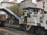 Kocasinan'da asfaltlama çalışmaları devam ediyor