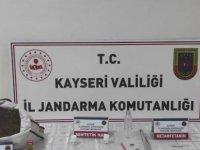 Kayseri'de Jandarmadan uyuşturucu operasyonu