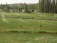 Kayseri'de 2021 yılında  700 bin 30 dekar tarım arazisi sulanacak