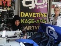 """Kayseri'de iş kadını Gül Basan, """"çalışacağız kazanacağız mücadele edeceğiz"""""""