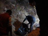 Kayseri'de vahşi cinayet! komşusunu taşla öldürüp kayalıklardan attı