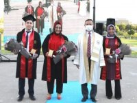 ERÜ Tıp Fakültesi 47. dönem Mezunlarını verdi