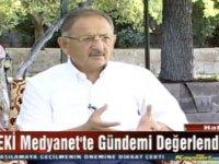 """Özhaseki: """"CHP'li belediyelerin iş yapmaya niyetleri de yok"""""""