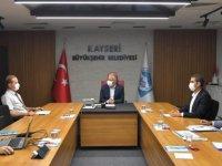 Başkan Büyükkılıç Dsi bölge müdürü ile toplantı yaptı