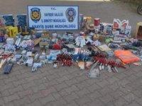 Anbar'da Hırdavat dükkanından 250 bin TL'lik malzeme çalan hırsız yakayı ele verdi
