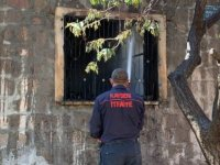 Kocasinan'da müstakil evde yangın