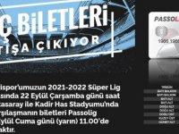Çarşamba günü oynanacak Olan Kayserispor-Galatasaray maçının bilet fiyatları belli oldu