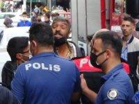Sahabiye'de 12. kattan zemine düşen bina görevlisi hayatını kaybetti