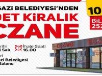 Melikgazi Belediyesi Tınaztepe'de 1 adet Eczane yerini 10 yıllığına kiraya verecek
