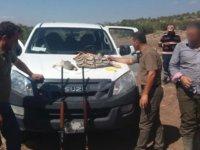 Kınalı keklik vuran kaçak avcılara 3 bin 600 tl ceza kesildi