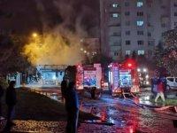 Talas'ta lokanta yandı daha sonra 2 dükkana sıçradı dükkanlar küle döndü