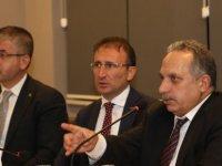 Başkan Yalçın proje ve yatırımları anlattı
