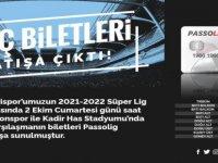 Kayserispor - Trabzonspor maçı biletleri satışa çıktı