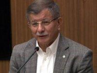 """Davutoğlu: """"Kayserililer dürüst olur Babam senetsiz kefilsiz mal verirdi"""""""
