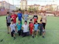 Melikgazi Futbol Okulunun öğrencileri kapanış turnuvası yapacak