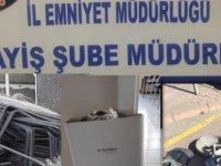4 farklı işyerinden hırsızlık yapan 2 kişi tutuklandı