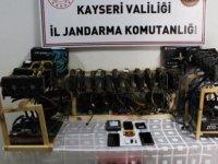 Kayseri'de kripto para üreten bir kişi gözaltına alındı